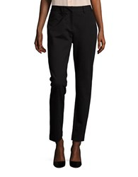 Karl Lagerfeld Straight Leg Trouser Pants Black