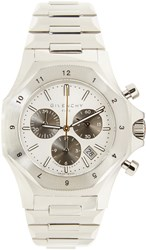 Givenchy Silver Five Watch