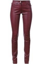 Sylvie Schimmel 'Cash Stretch' Skinny Trousers Red