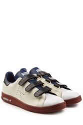 Raf Simons Adidas By X Adidas Stan Smith Leather Sneakers Multicolor