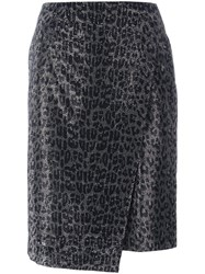 Ermanno Scervino 'My Spotted' Skirt Metallic
