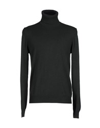Alpha Massimo Rebecchi Knitwear Turtlenecks Men Dark Green