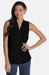 Nic Zoe 'Day To Night' Top Regular And Petite Black Onyx