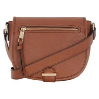 Oasis Sadie Saddle Bag Tan