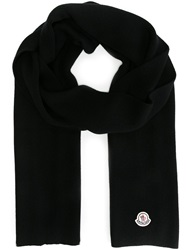 Moncler Knit Scarf Black