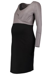 Noppies Laila Jersey Dress Black Silver