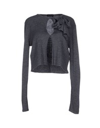 Diana Gallesi Knitwear Cardigans Women Grey