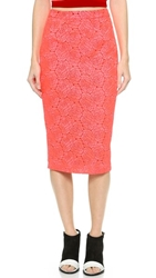 A.L.C. Towner Skirt Neon Pink