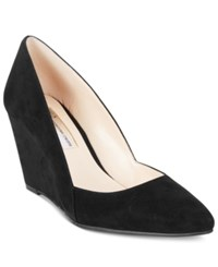 Inc International Concepts Zarie Suede Pumps Only At Macy's Women's Shoes Black