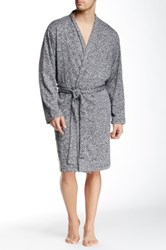 Bread And Boxers Sweater Robe Gray