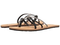 Volcom New School 2 Black Combo Women's Sandals