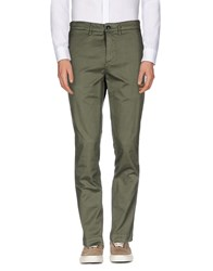Department 5 Trousers Casual Trousers Men Military Green