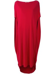 Chalayan Cocoon Dress Red
