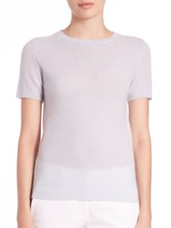 Theory Tolleree Cashmere Tee Classic Blue