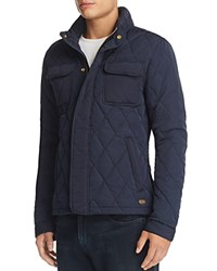 Scotch And Soda Peached Quilted Jacket Night