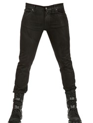 Karl Lagerfeld 16 5Cm Waxed Denim Stretch Skinny Jeans