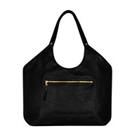 Jlew Bags Black And Gold Welterweight Triangle Top Tote