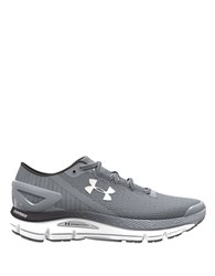 Under Armour Speedform Gemini 2.1 Meshed Lace Up Sneakers Grey