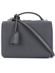 Mark Cross 'Grace' Box Bag Grey