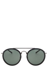 Dries Van Noten Gunmetal Sunglasses
