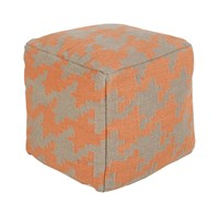 Surya Frontier Cube Pouf 2