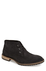Andrew Marc New York 'Woodside' Chukka Boot Men Black Deep Natural Suede