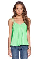 Amanda Uprichard Anne Tank Green