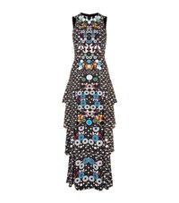 Peter Pilotto Printed Tier Gown Female Multi