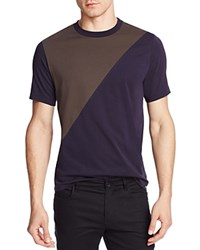 Ps Paul Smith Color Block Tee Navy