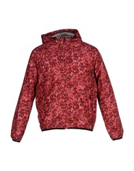 Andy Warhol By Pepe Jeans Coats And Jackets Jackets Men Maroon
