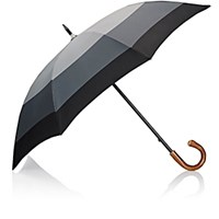 Barneys New York Men's Stick Umbrella Grey