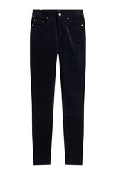 Citizens Of Humanity Skinny Velvet Pants Blue