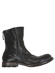 Moma Washed Leather Boots