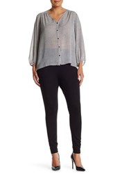 Vince Camuto Ponte Legging Plus Size Gray
