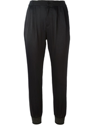 Tsumori Chisato Sheen Track Pants Black