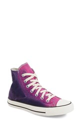 Women's Converse Chuck Taylor All Star 'Sunset Wash' High Top Sneaker Plastic Pink Blue Canvas