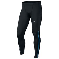 Nike Power Tech Running Tights Black Blue