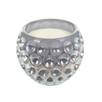 Opaline Orb Glass Candle Cloud