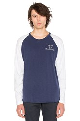 Deus Ex Machina Peg Leg Raglan Navy