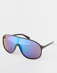Trip Visor Sunglasses Black