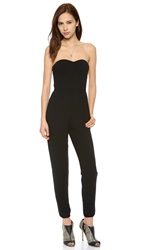 Twelfth St. By Cynthia Vincent Corset Jumpsuit Black