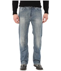 Rock And Roll Cowboy Double Barrel Relax In Medium Vintage M0s5511 Medium Vintage Men's Jeans Blue