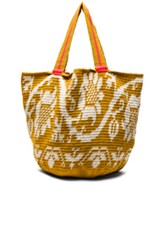 Sophie Anderson Jonas Floral Tote In Yellow Floral Yellow Floral