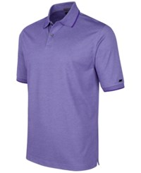 Greg Norman For Tasso Elba Pima Cotton Polo Shirt Only At Macy's Purple Yam