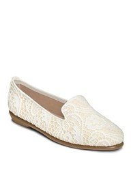 Aerosoles Betunia Smoking Flat Cream Lace