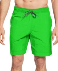 Tommy Hilfiger Men's Swim Trunks Kelly Green