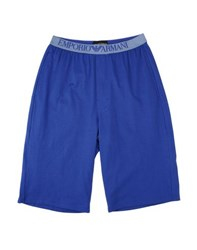 Emporio Armani Underwear Sleepwear Men Bright Blue