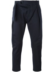 Andrea Pompilio Straight Trousers Blue