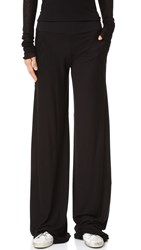 Rick Owens Wide Leg Pants Black