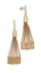 Eddie Borgo Neo Tassel Earrings Gold